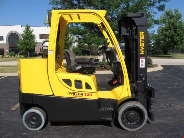 Used Hyster Cushion Tire Forklift