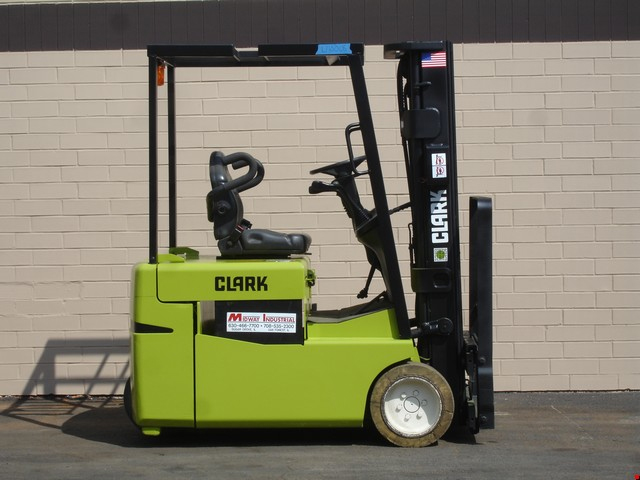 Used Clark 3 Wheel Electric Forklift