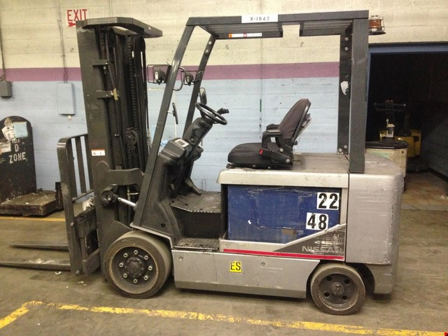 Used Nissan 4 Wheel Electric Forklift
