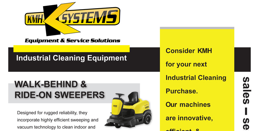 KMH Industrial Cleaning Equipment