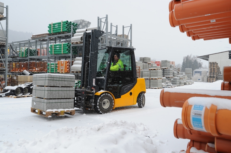Preparing your forklift for the winter
