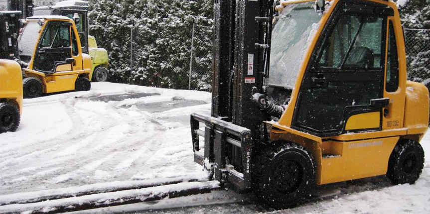 Help Your Forklifts & Team Thrive This Winter